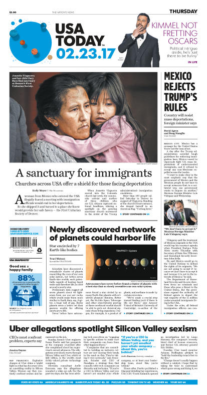 02/23/2017 Issue of USA TODAY