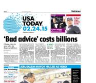 02/24/2015 Issue of USA TODAY