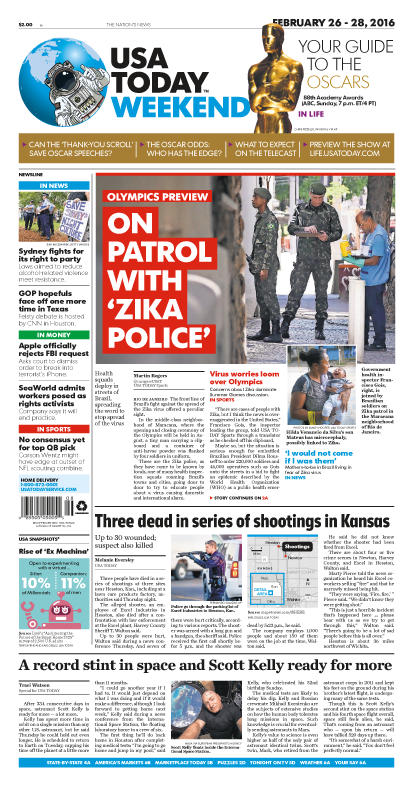 02/26/2016 Issue of USA TODAY