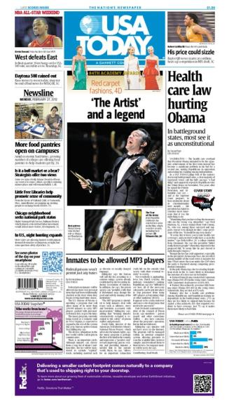02/27/2012 Issue of USA TODAY