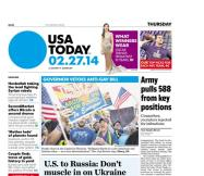 02/27/2014 Issue of USA TODAY