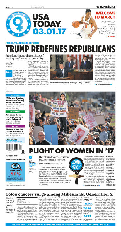 03/01/2017 Issue of USA TODAY