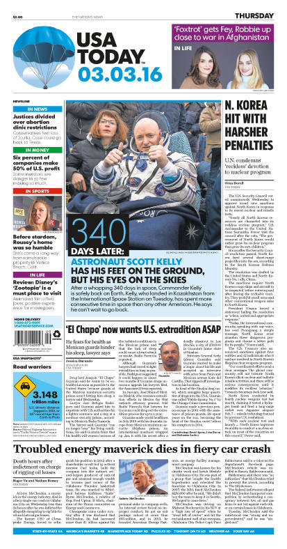 03/03/2016 Issue of USA TODAY