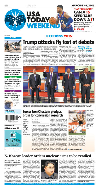 03/04/2016 Issue of USA TODAY