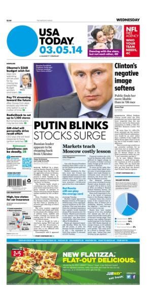03/05/2014 Issue of USA TODAY