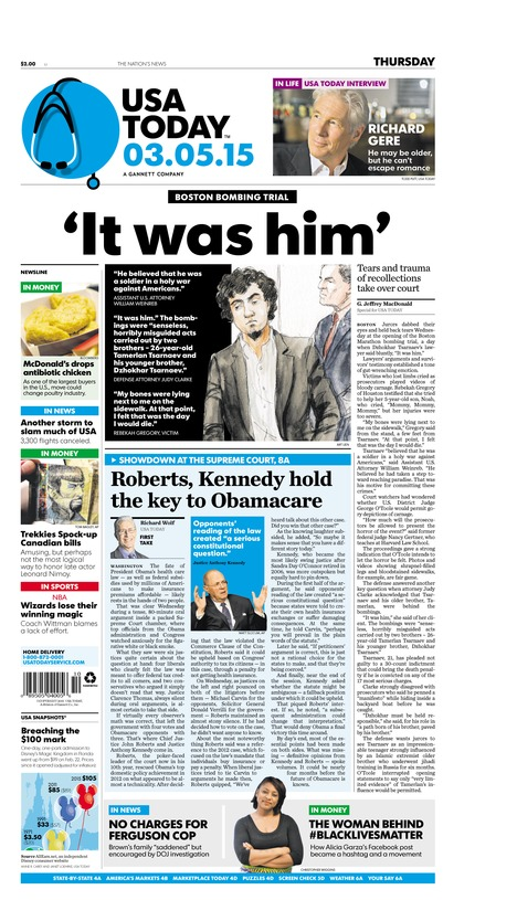03/05/2015 Issue of USA TODAY