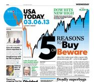 03/06/2013 Issue of USA TODAY