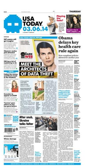 03/06/2014 Issue of USA TODAY