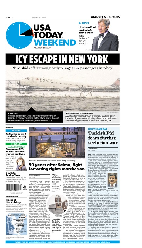 03/06/2015 Issue of USA TODAY