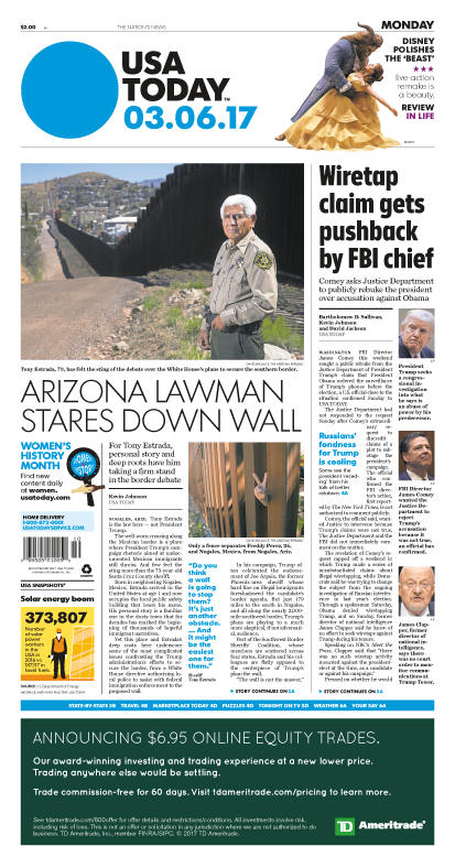 03/06/2017 Issue of USA TODAY MAIN