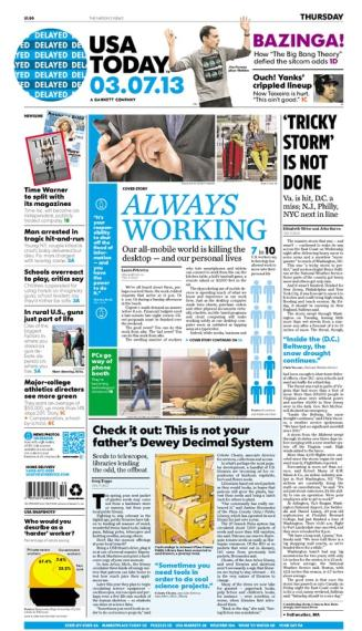 03/07/2013 Issue of USA TODAY