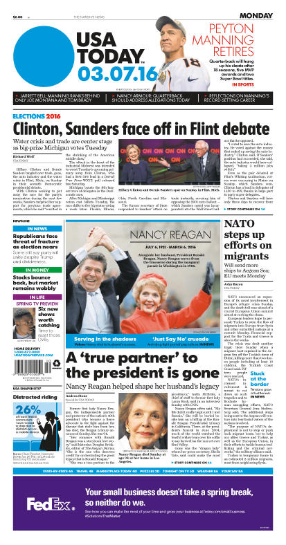 03/07/2016 Issue of USA TODAY