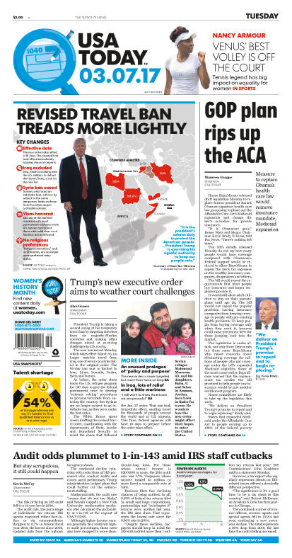 03/07/2017 Issue of USA TODAY