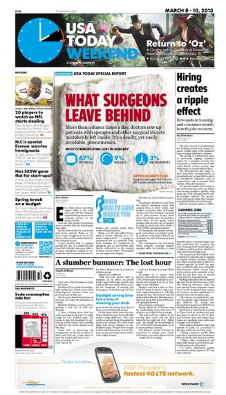 03/08/2013 Issue of USA TODAY