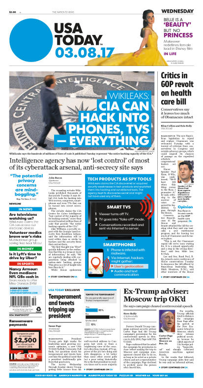 03/08/2017 Issue of USA TODAY