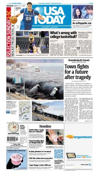 03/09/2012 Issue of USA TODAY