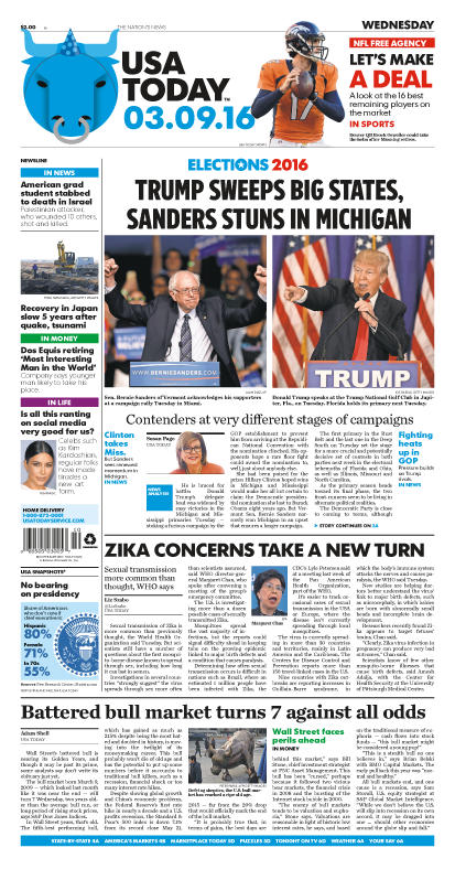 03/09/2016 Issue of USA TODAY