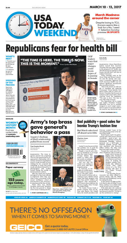 03/10/2017 Issue of USA TODAY MAIN