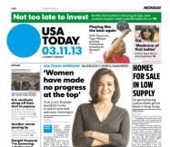 03/11/2013 Issue of USA TODAY