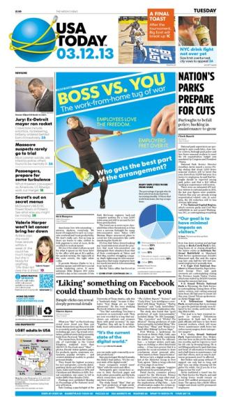 03/12/2013 Issue of USA TODAY