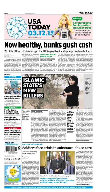 03/12/2015 Issue of USA TODAY
