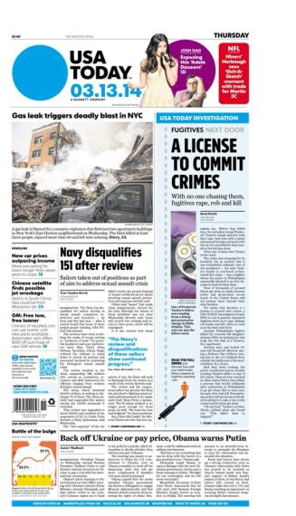 03/13/2014 Issue of USA TODAY