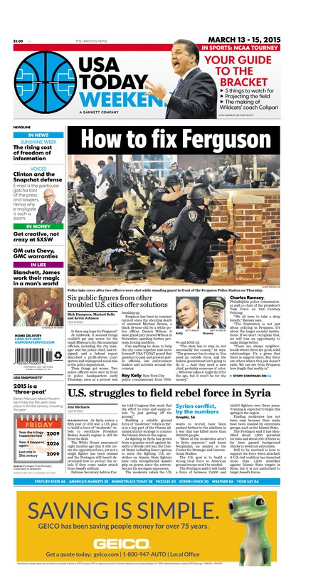 03/13/2015 Issue of USA TODAY