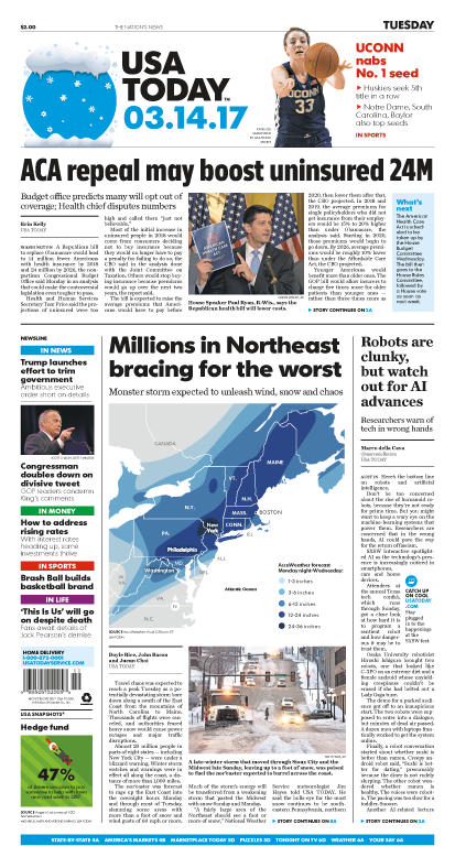 03/14/2017 Issue of USA TODAY