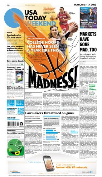 03/15/2013 Issue of USA TODAY