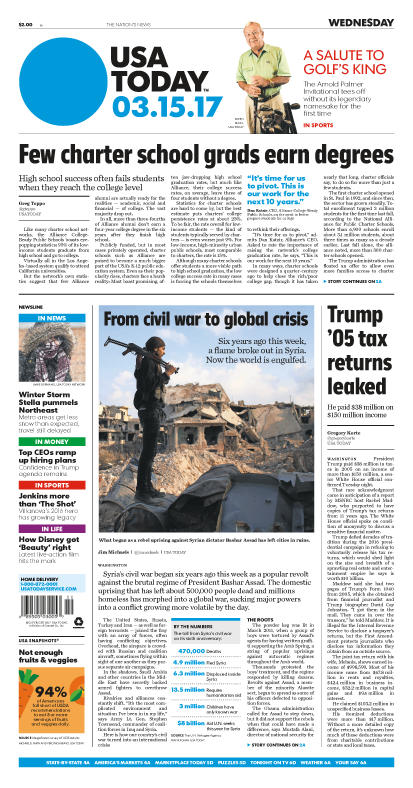 03/15/2017 Issue of USA TODAY