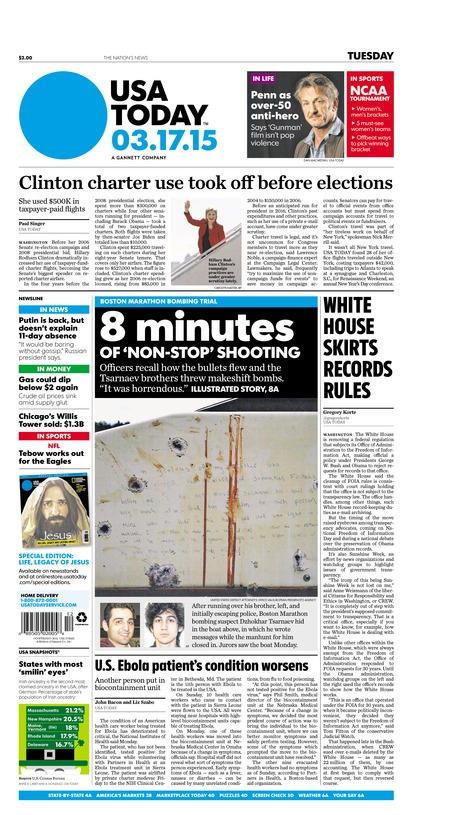 03/17/2015 Issue of USA TODAY