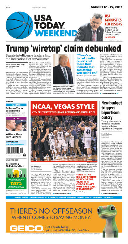 03/17/2017 Issue of USA TODAY MAIN
