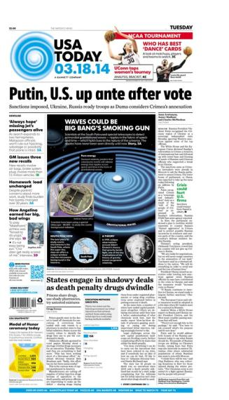 03/18/2014 Issue of USA TODAY