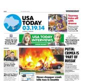 03/19/2014 Issue of USA TODAY