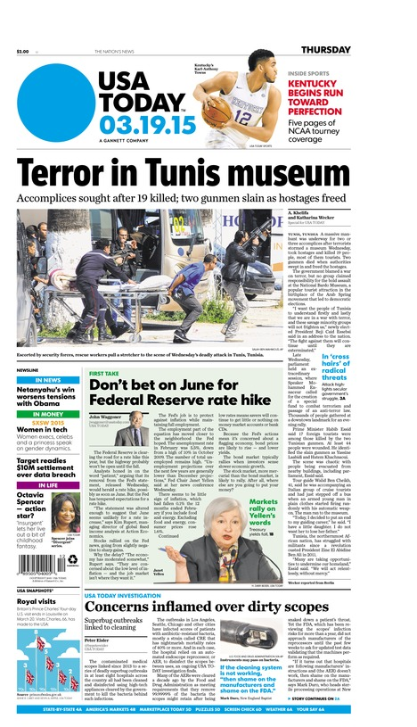03/19/2015 Issue of USA TODAY