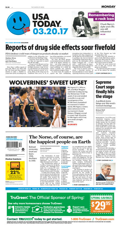 03/20/2017 Issue of USA TODAY