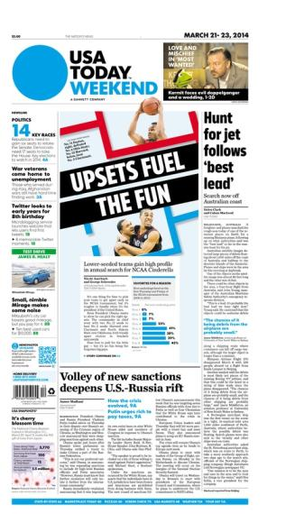 03/21/2014 Issue of USA TODAY