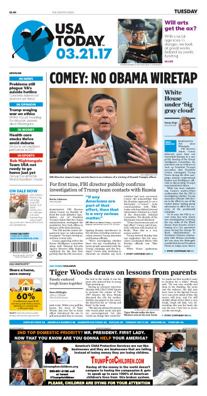 03/21/2017 Issue of USA TODAY