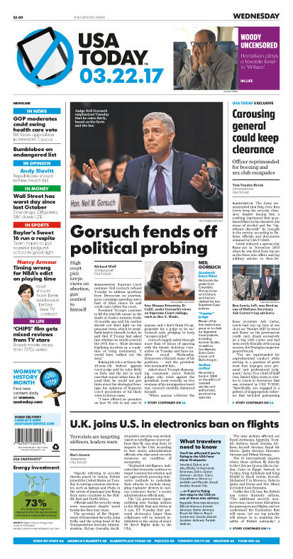 03/22/2017 Issue of USA TODAY
