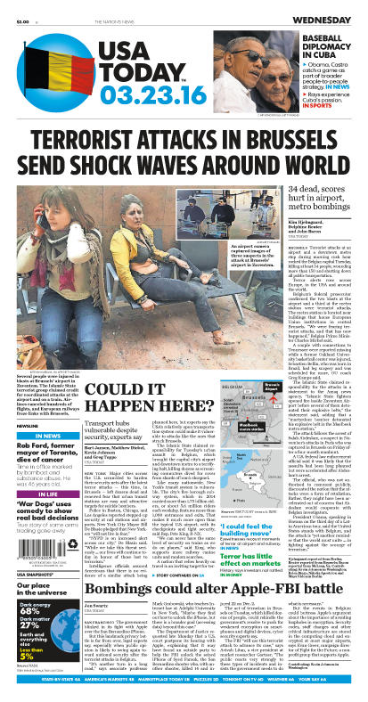 03/23/2016 Issue of USA TODAY