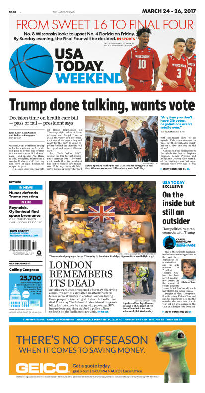 03/24/2017 Issue of USA TODAY