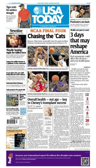 03/26/2012 Issue of USA TODAY