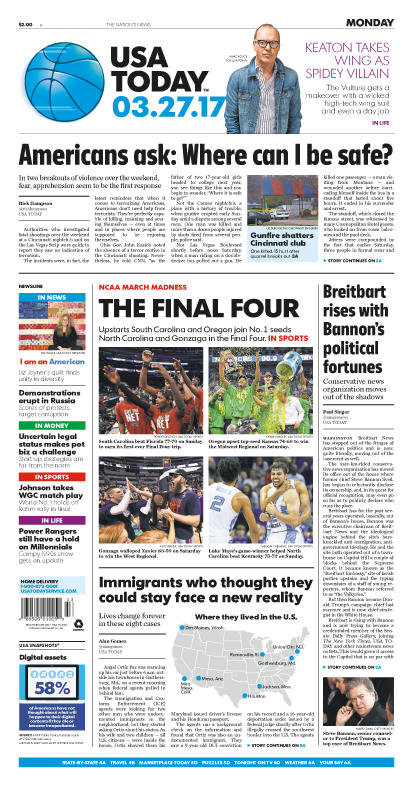 03/27/2017 Issue of USA TODAY MAIN