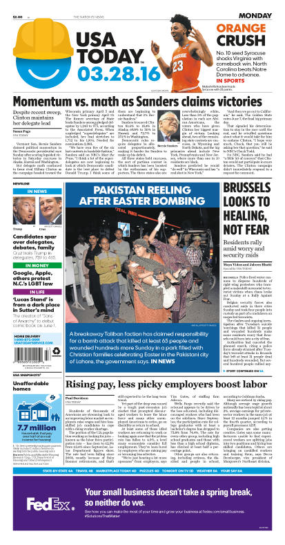 03/28/2016 Issue of USA TODAY