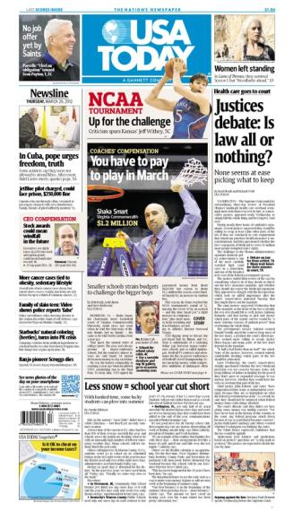 03/29/2012 Issue of USA TODAY
