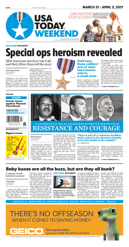 03/31/2017 Issue of USA TODAY