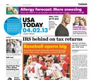 04/02/2013 Issue of USA TODAY