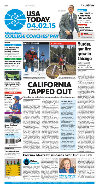 04/02/2015 Issue of USA TODAY