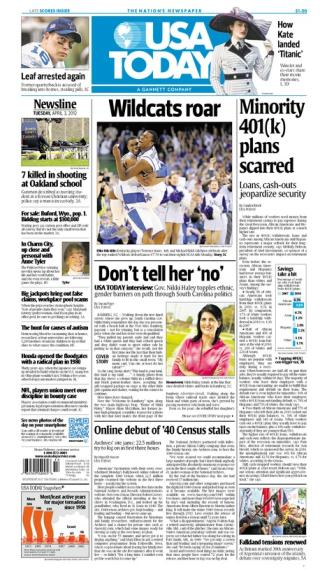 04/03/2012 Issue of USA TODAY
