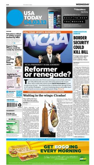 04/03/2013 Issue of USA TODAY